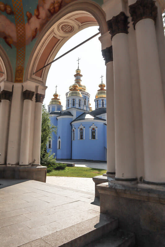 St Michaels Gold Domed Monastery_