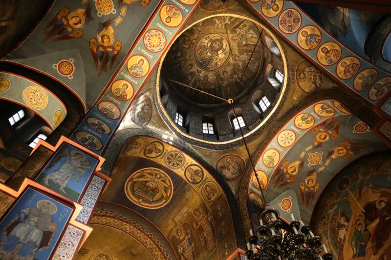 St Michaels Monastery Inside