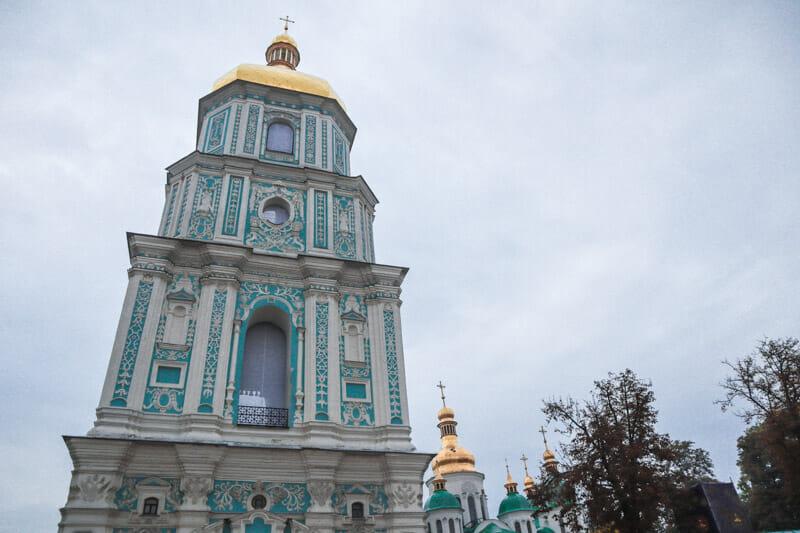 St Sophia Cathedral in Kiev_