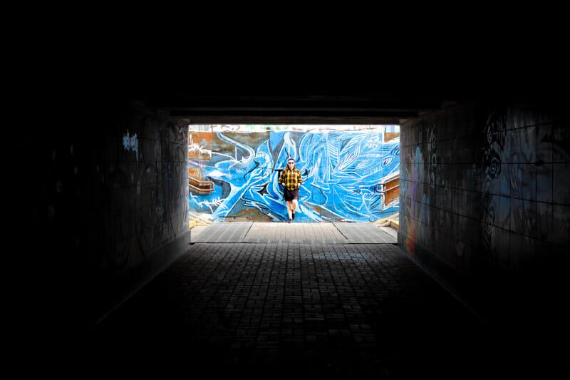 Street Art Near St. Nicolas Wondermaker