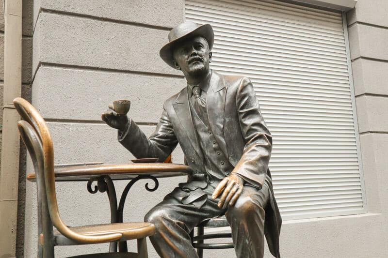 Wladysław Horodecki Statue Kiev