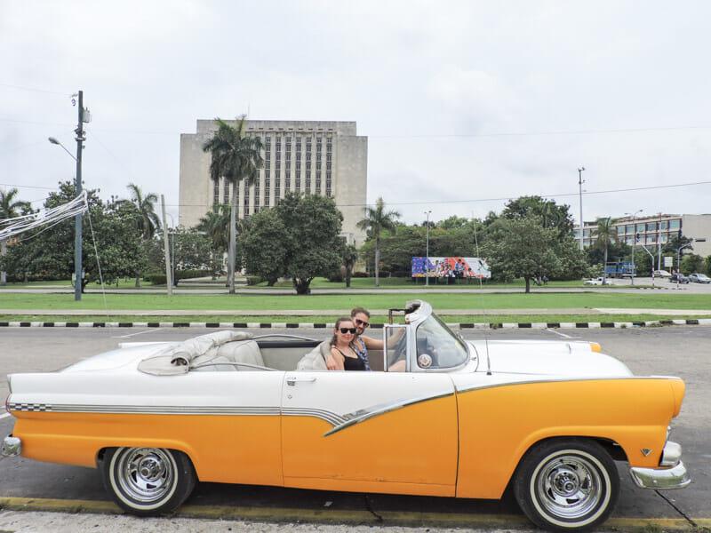 Revolution Square Vintage Car Havana
