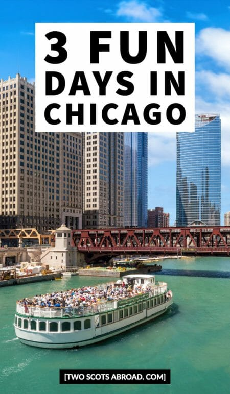 3 days in Chicago, Chicago itinerary, things to do in Chicago, Chicago tips, Chicago summer, Chicago winter, Cloud Gate, Chicago Riverwalk, Chicago food, Chicago skyline, Chicago nightlife, Navy Pier, Chicago Downtown