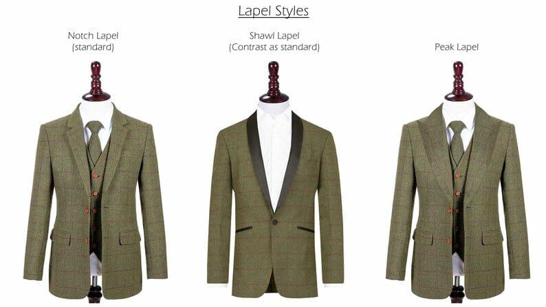 Handmade Tweed Suit Etsy