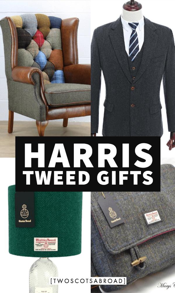 Harris Tweed Gift Presents