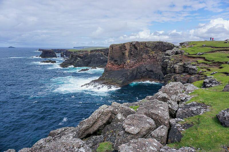 Shetland Cliffs and Sea - Migrating Miss