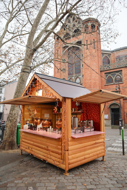 Abbesses Christmas Market at Montmartre