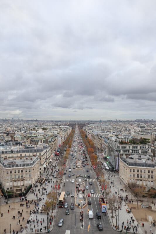 Arch de Triumph Views