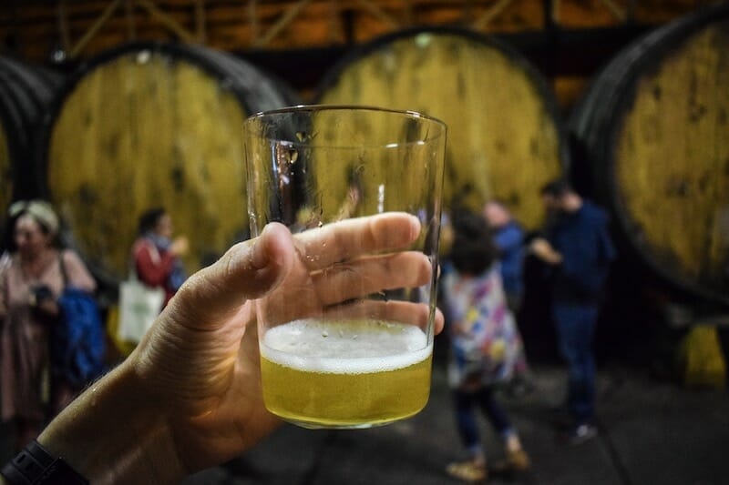 Asturian Cider_Sidra Pouring in Northern Spain - Travel Photography by Ben Holbrook from DriftwoodJournals.com