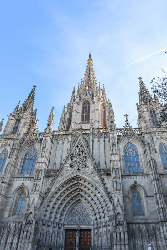 Barcelona Cathedral Gothic Quarter_
