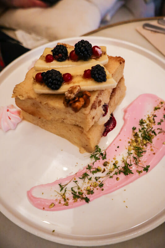 Brunch and Cakes French Toast Barcelona_