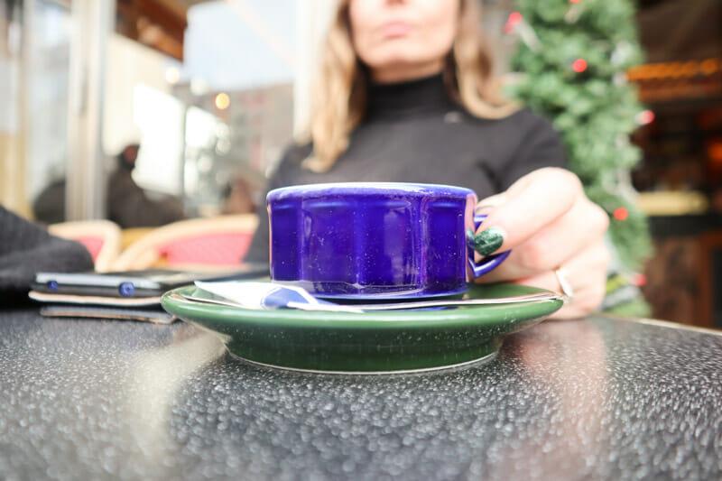 Cafe Marais Christmas Paris