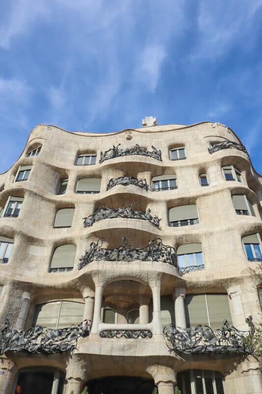 Casa Mila Barcelona_
