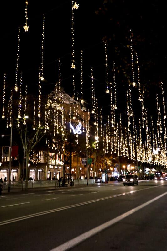 Christmas Lights Passeig de Gracia