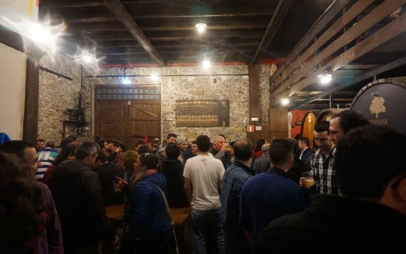 Cider House Culture in San Sebastian