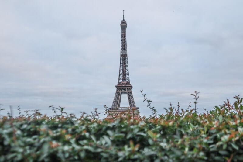Eiffel Trocadero Paris France