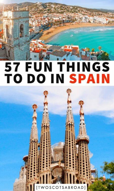 Things to do in Spain, Spain itinerary, what to do in Spain, Spain travel, Spain vacation, Spain beaches, Barcelona, Madrid, Seville, Costa Brava, Granada, Ibiza, Mallorca, Toledo