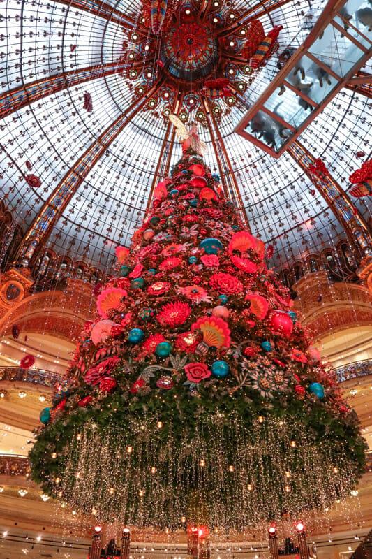 Galeries Lafayette Haussmann Christmas Tree