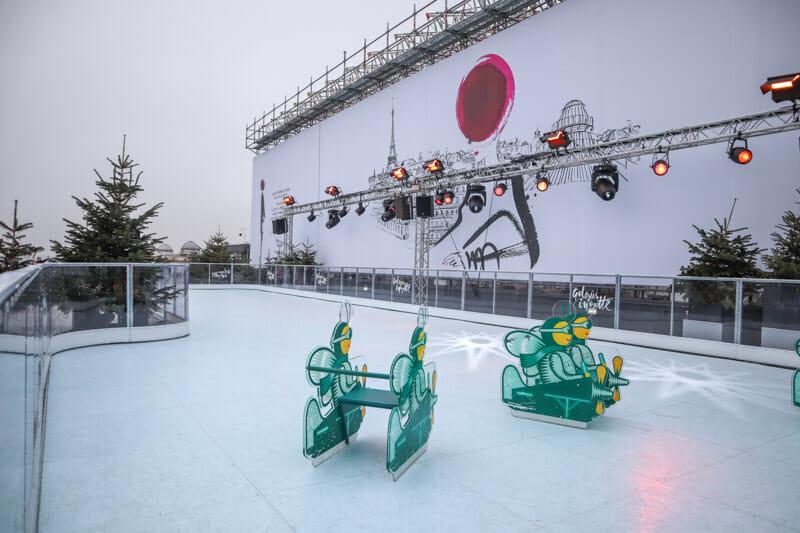 Galeries Lafayette Haussmann Rooftop Terrace Christmas_