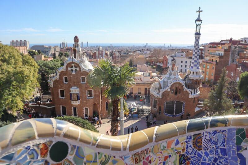 Guell Park Barcelona_