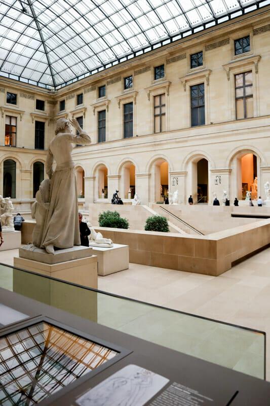 Inside Louvre Paris_
