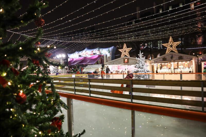 Jardin des Tuileries Christmas Market Paris