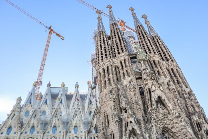La Sagrada Familia Barcelona Attractions
