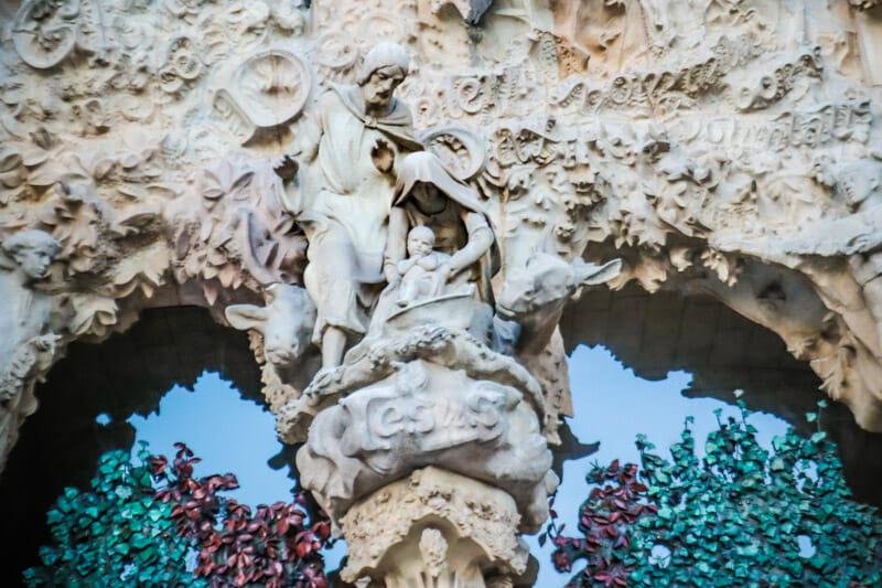 La Sagrada Familia Mary Joseph Jesus Barcelona