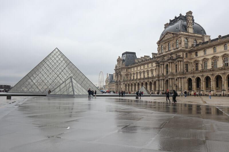 Louvre Museum Paris _