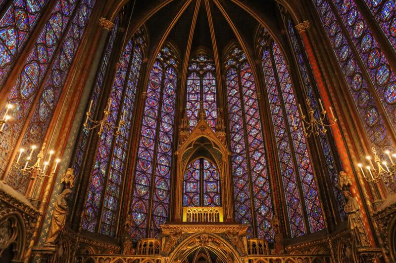 Sainte-Chapelle in Paris_