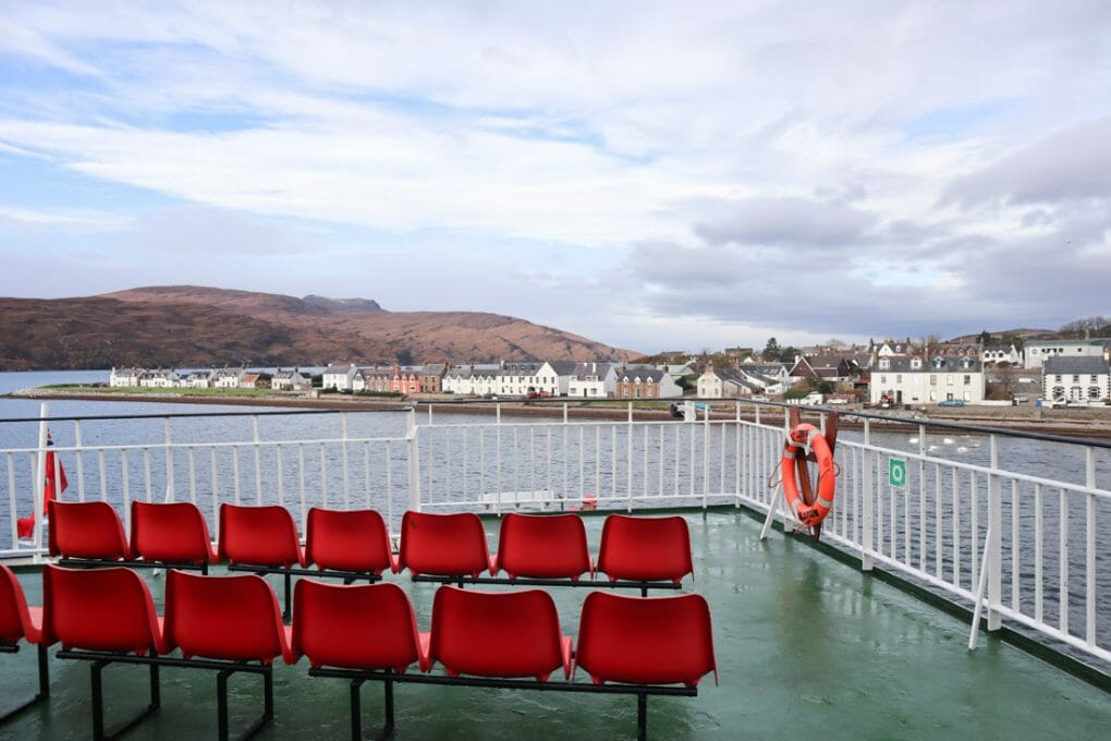 Ullapool CalMac Ferries Two Scots Abroad_