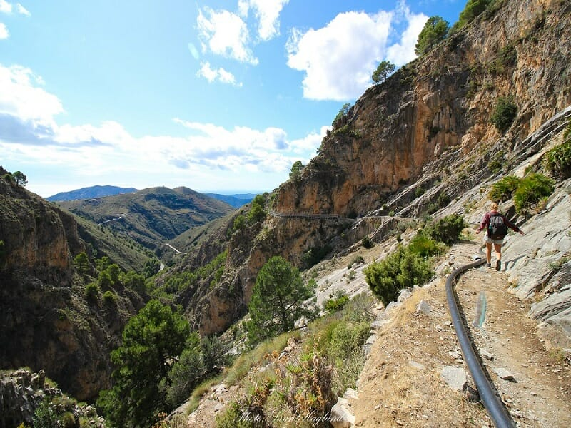 el Saltillo trail - Brainy Backpackers