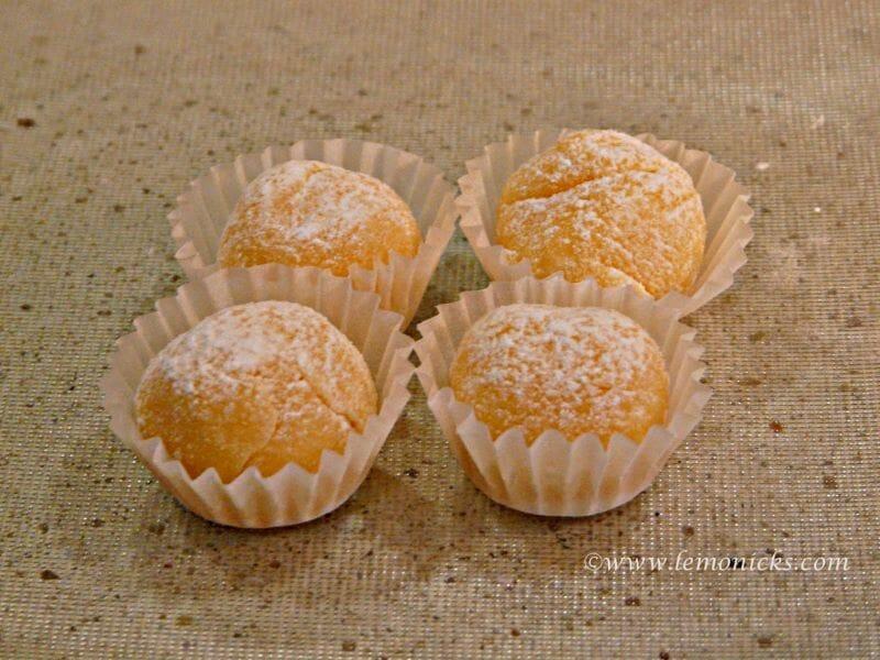 yemas cakes