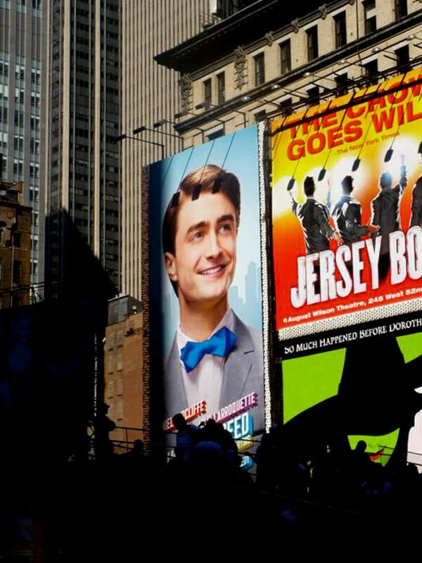 Broadway Show Ads New York