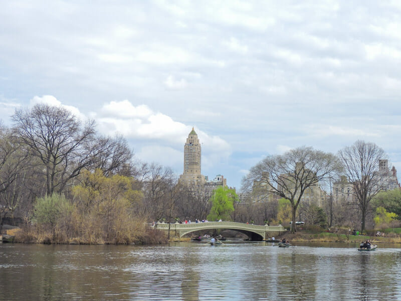 Central Park NYC Boats