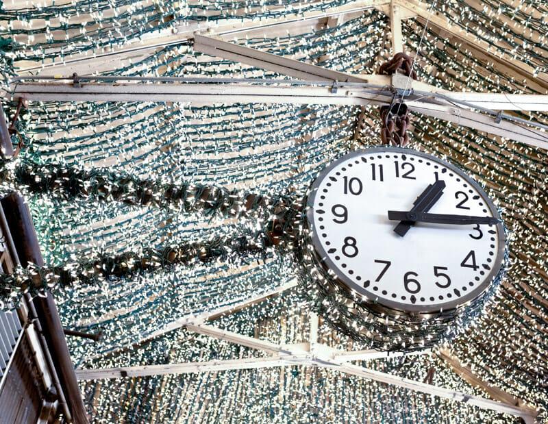 Chelsea Market Clock New York_