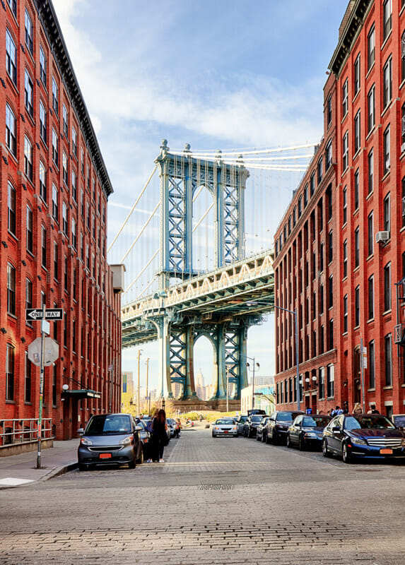 DUMBO Manhattan Bridge New York_