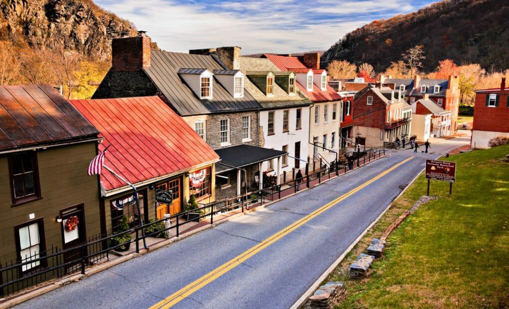 Harpers Ferry High Street West Virginia