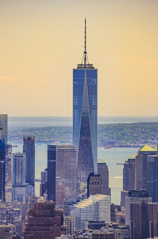 One World Trade Center or Freedom Tower NYC