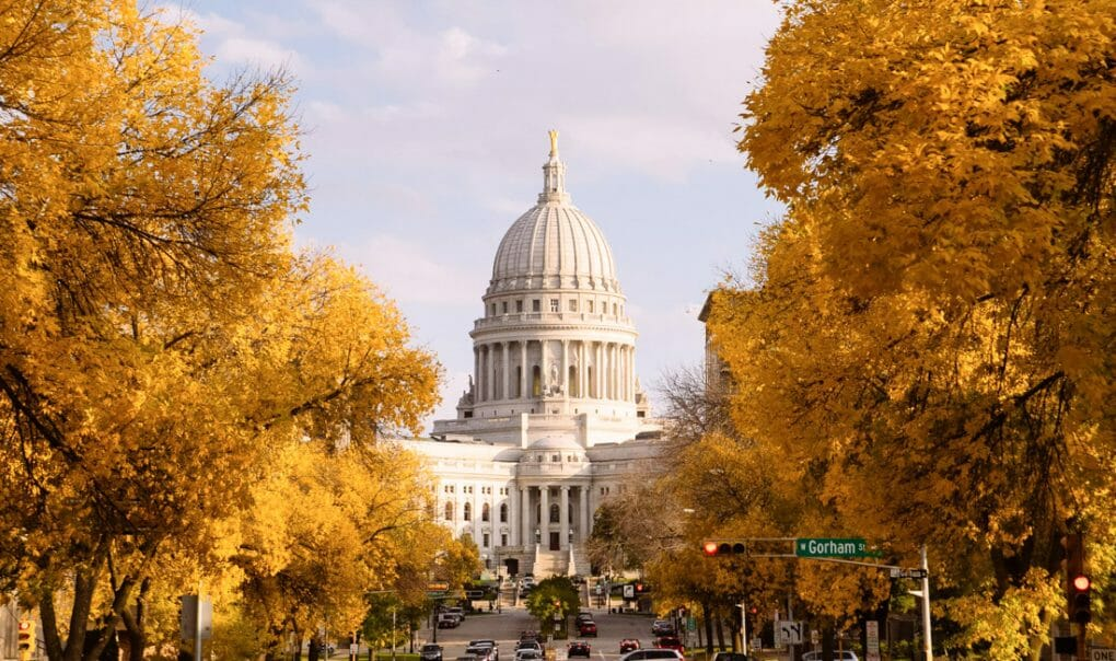 Madison Wisconsin Capitol Building