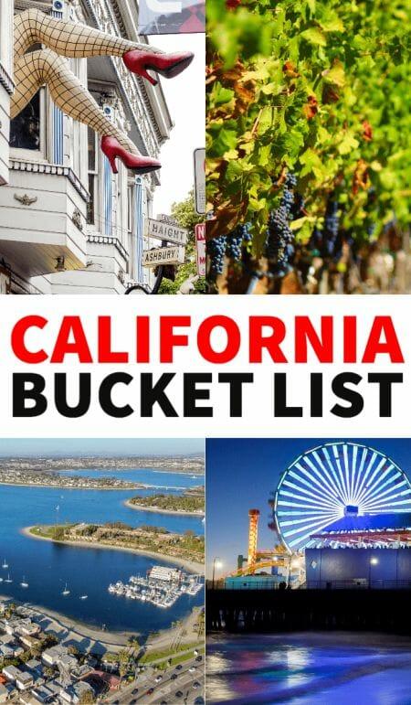 California bucket list, things to do in California, California travel tips, Instagram California, California travel destinations, California road trip, California towns, California attractions, California waterfalls, San Francisco, San Diego, LA, Los Angeles, San Jose