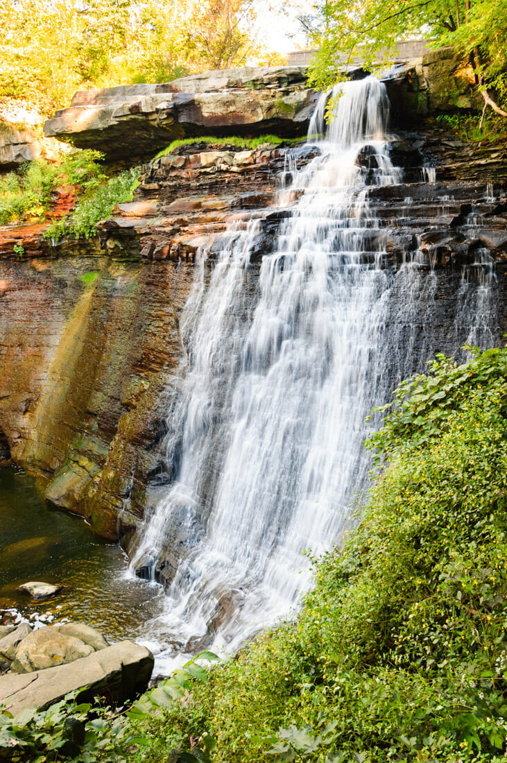 Cuyahoga Valley National Park waterfall view