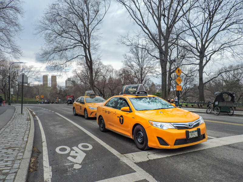 Yellow Cabs NYC