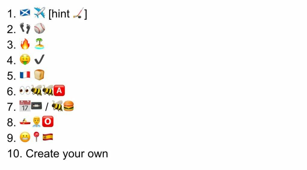 Emoji Round Quiz