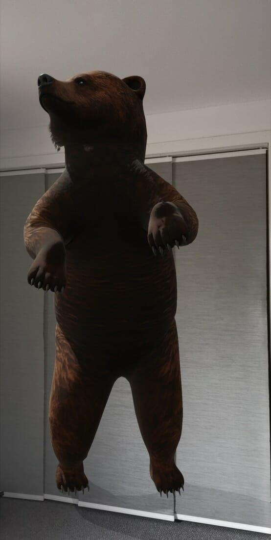 Google 3D Animal
