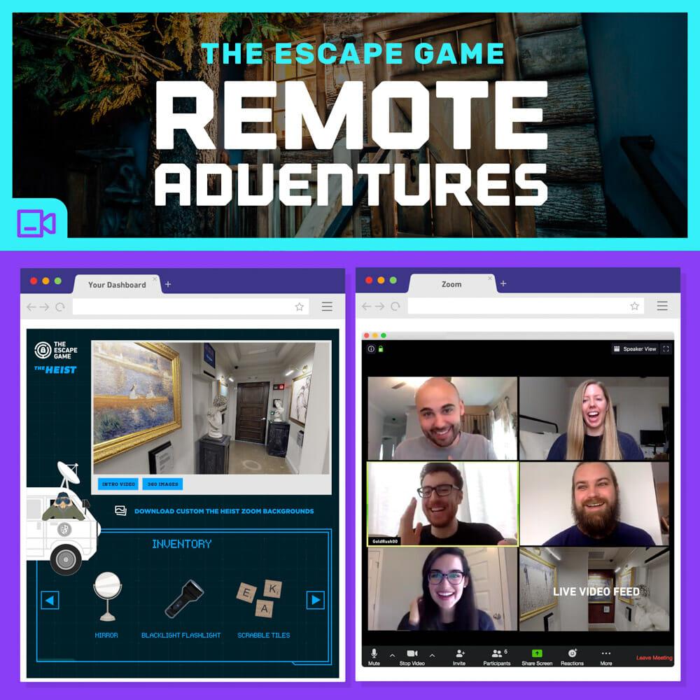 Online Virtual Escape Room Games