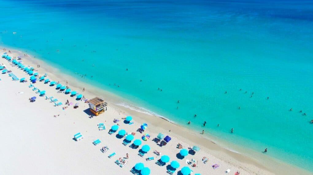 South Beach, Miami Beach. Florida