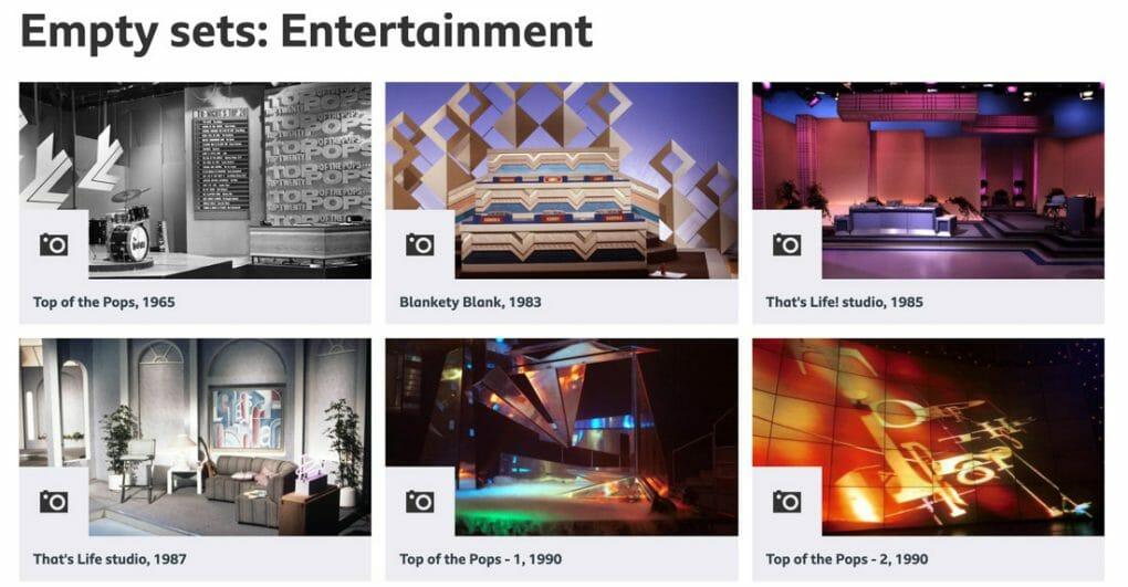 BBC Empty Sets Images