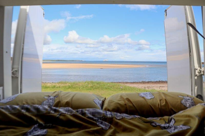 Dunbar Scotland Camper