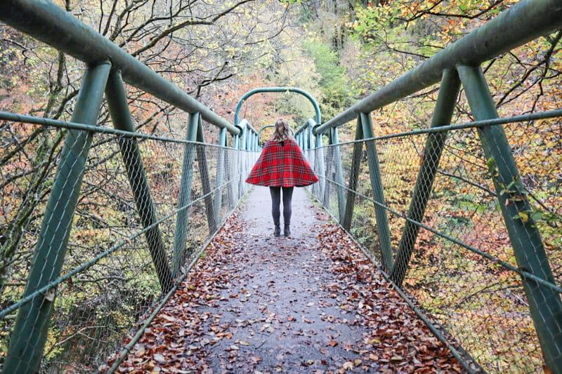 River Garry Perthshire Scotland Bridge